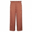 Second Female - Spotty Hw Trousers - rustic brown thumbnail