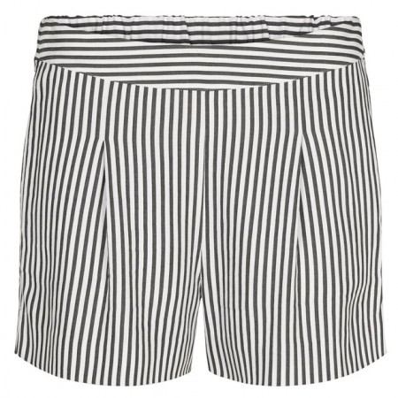 Just Female - Beach Shorts - Green White Stripe
