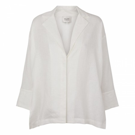 Second Female - Avia Shirt Jacket - white