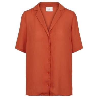JUST FEMALE -  Lift Shirt - BURNT ORANGE