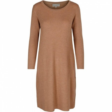 Close To My Heart - Adrienne Dress - Camel