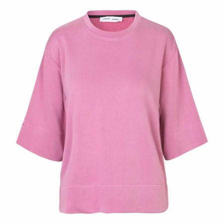 SAMSØE SAMSØE - CIRA CREW NECK 10749 - HEATHER ROSE