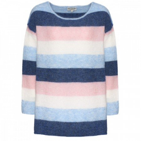 Close To My Heart - Loveday Sweater - Multi Stripe