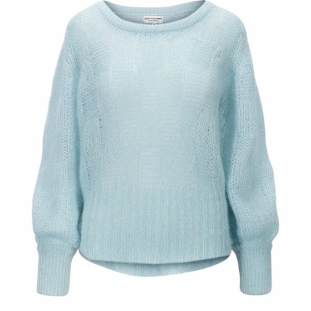 CLOSE TO MY HEART - PEARL SWEATER - LIGHT BLUE