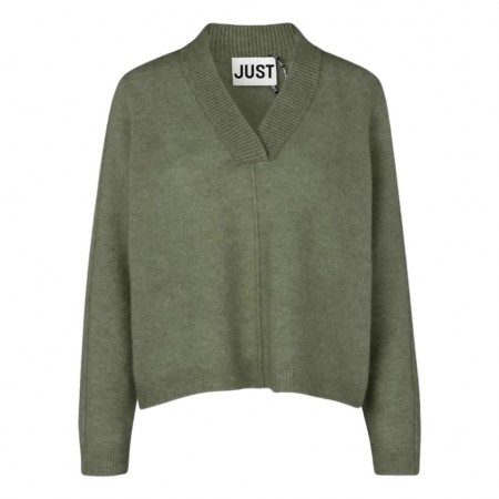 JUST - CHICA KNIT - CLOVER GREEN