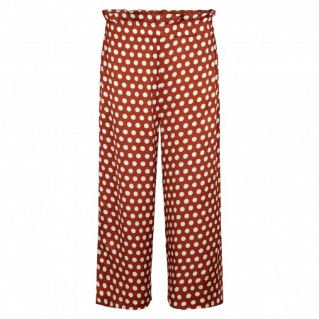 Second Female - Spotty Hw Trousers - rustic brown