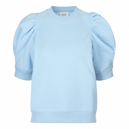 Second Female - Miami Sweat Tee - Pale sky blue