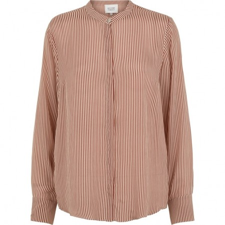 Second Female - Sharon Ls Shirt - brown patina
