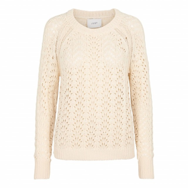 JUST FEMALE - IAN KNIT - OFF-WHITE