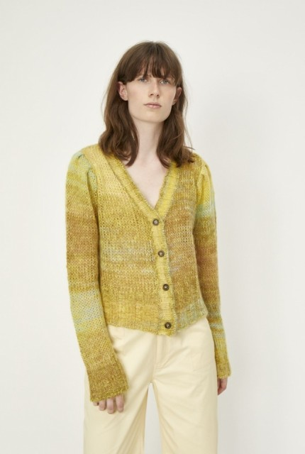 JUST - LOTUS KNIT CARDIGAN - SPACE DYE
