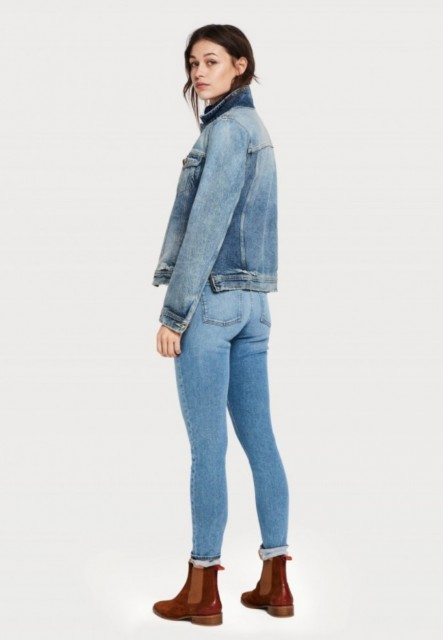 MAISON SCOTCH - LA BOHEMIENNE - HIGHEST BLAUW