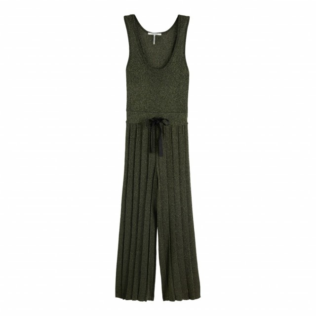 MAISON SCOTCH - JUMPSUIT/PLAYSUIT KNITTED LUREX ALL-IN-ONE - GRØNN